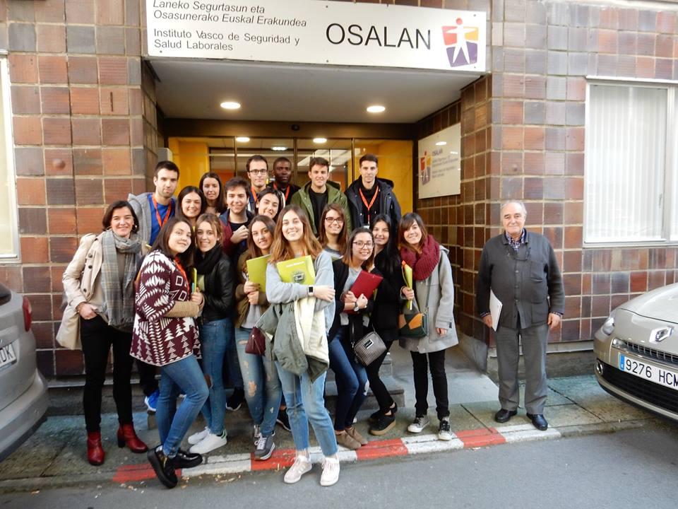 Visita a Osalan