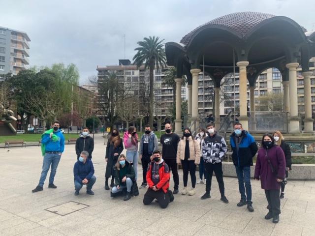 Formación práctica con la DYA en Santurtzi